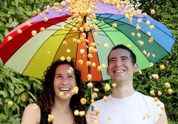 pop corn sheds Laura et Sam
