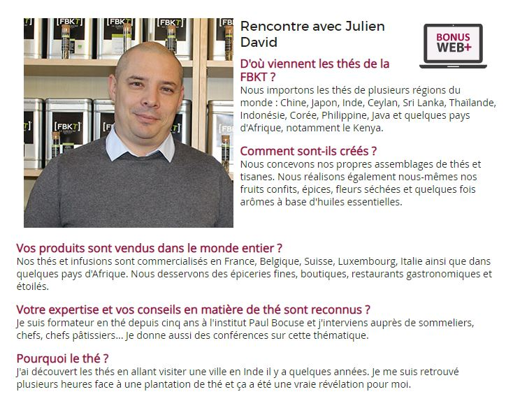Interview Julien David, fondateur de la FBKT